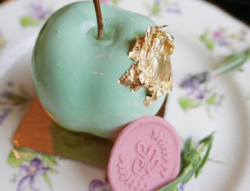 Apple & Dill Entremet